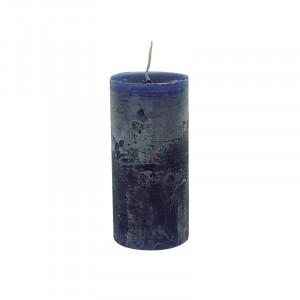 Lumanare albastru inchis din ceara parafinica 15 cm Lars LifeStyle Home Collection