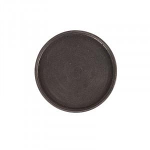Tava rotunda neagra din rasina 25 cm Rudo LifeStyle Home Collection
