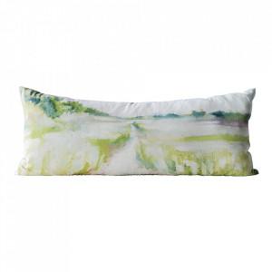 Perna decorativa dreptunghiulara multicolora din bumbac 33x75 cm Nature Bloomingville
