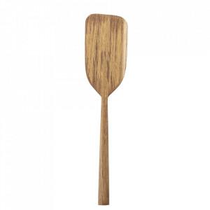 Spatula maro din lemn de tec 28 cm Rey Bloomingville