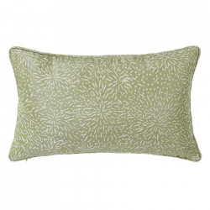 Perna decorativa dreptunghiulara verde din poliester 33x50 cm Loving Unimasa