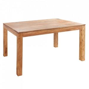 Masa dining maro din lemn de palisandru indian 90x140 cm Lagos Invicta Interior