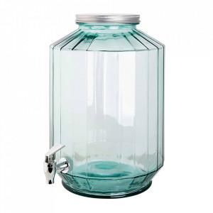 Dozator transparent din sticla pentru bauturi 12 L Recycled