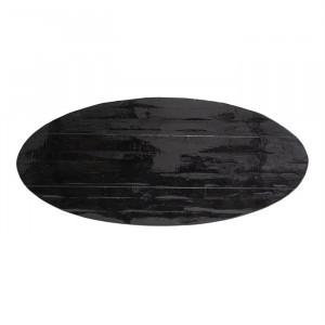 Blat negru din lemn 111x250 cm Grandis Richmond Interiors