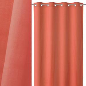 Draperie rosu corai din bumbac si poliester 140x260 cm Loving Colors Teresa Unimasa