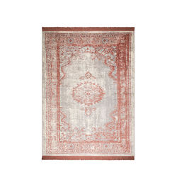 Covor rosu din bumbac si poliester 170x240 cm Marvel Blush Zuiver