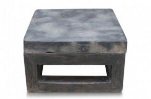 Masa cafea din piatra 75x73cm Stone Versmissen