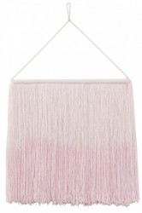 Decoratiune perete roz din bumbac 40x45 cm Tie-Dye Pink Lorena Canals