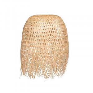 Abajur crem din bambus Samet Opjet Paris