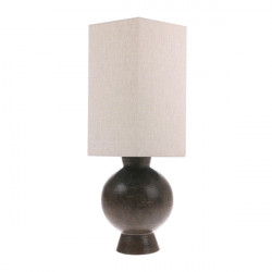 Abajur crem din in Hexagonal Lampshade Natural HK Living