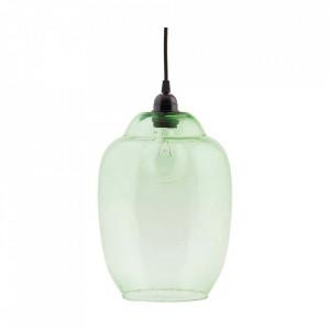 Abajur verde din sticla Goal House Doctor