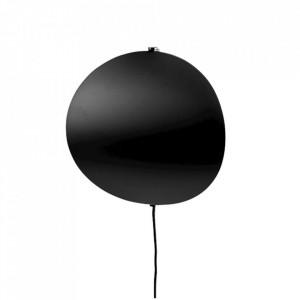 Aplica neagra din metal cu LED Callas Wall Large Bolia