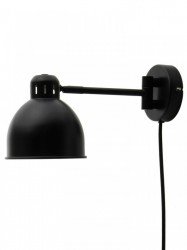 Aplica neagra din metal Job Mini Frandsen Lighting