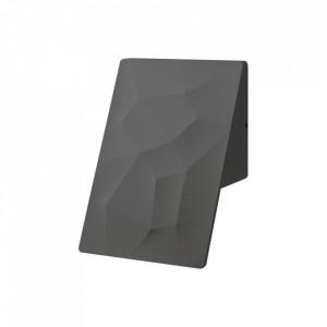Aplica pentru exterior neagra din metal Scienny Milagro Lighting