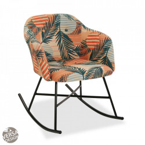 Balansoar multicolor din textil si metal Saona Rock Versa Home