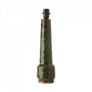 Baza veioza verde din ceramica 45 cm Doris HK Living