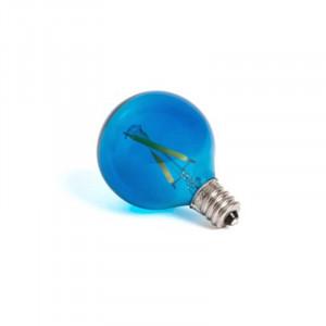 Bec albastru cu filament LED E12 1W Mouse Lamp Seletti