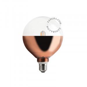 Bec dimabil LED E27 4W Fred Copper Filament Zangra