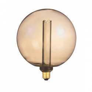 Bec maro chihlimbar cu filament LED E27 4W XXL Bulb Opjet Paris