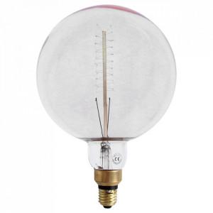 Bec transparent cu filament carbon E27 40W XXL Bulb Opjet Paris
