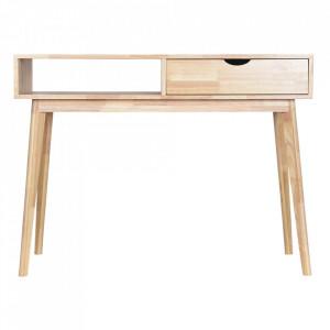 Birou maro din lemn 40x100 cm Boutique Opjet Paris