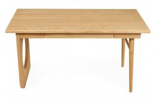 Birou maro din lemn si MDF 70x140 cm Bau Woodman