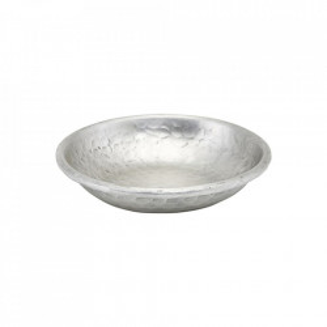 Bol decorativ argintiu din aluminiu 12 cm Kollan House Doctor