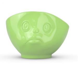 """Bol din portelan 500 ml """"sulking"""" verde Tassen"""