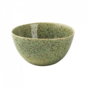 Bol verde din ceramica 255 ml Kiwi Palmer