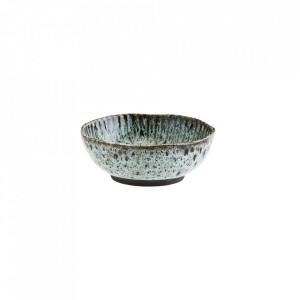 Bol verde/negru din ceramica 17,5 cm Natural Madam Stoltz