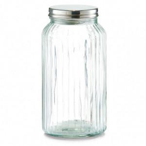Borcan cu capac transparent din sticla 1,55 L Soja Zeller