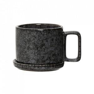 Cana neagra din ceramica 300 ml Night Bloomingville