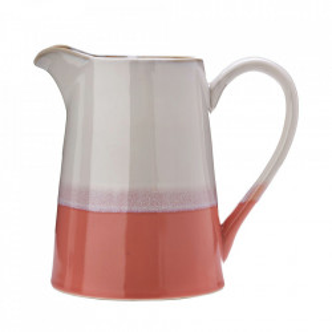 Carafa alba/roz din ceramica 1,5 L Panorama Pols Potten