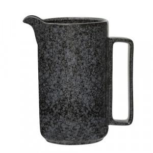Carafa neagra din ceramica 12x21,5 cm Noir Bloomingville