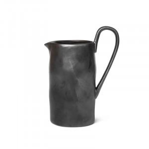 Carafa neagra din portelan 1 L Brus Ferm Living