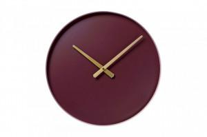 Ceas de perete rotund din otel 40 cm Color Circle Cameo Rose Bolia