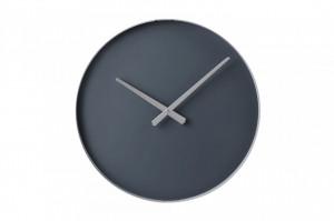 Ceas de perete rotund gri din otel 40 cm Color Circle Bolia