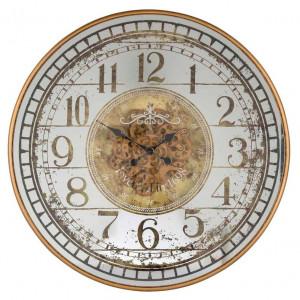 Ceas perete rotund multicolor din metal si sticla 82 cm Aubrey Richmond Interiors
