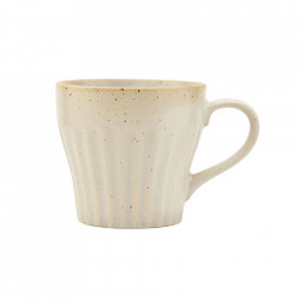 Ceasca bej din ceramica 8,6x9,1 cm Berica Handle House Doctor