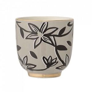 Ceasca maro din ceramica 180 ml Hannah Bloomingville
