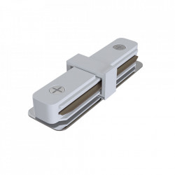Conector electric alb din plastic pentru sina Track Accesory White Maytoni
