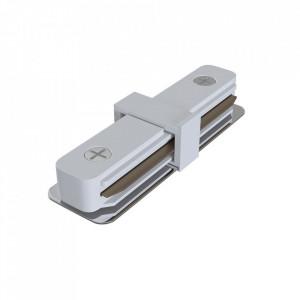 Conector electric alb din plastic pentru sina Track Accesory White Maytoni