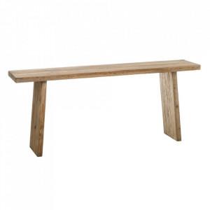 Consola maro din lemn de pin 183 cm Denzzo