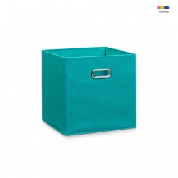 Cos albastru din fleece Storage Box Petrol Zeller