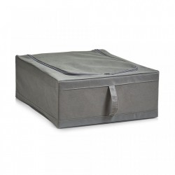 Cos gri din fleece Storage Box Zipper Zeller