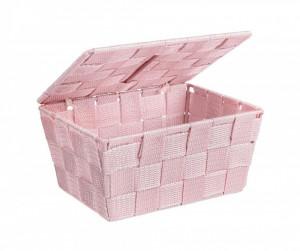 Cos roz cu capac 19x14x10 cm Adria Rose Wenko