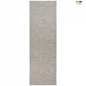 Covor crem/gri din polipropilena pentru exterior Nature Look Cream Grey BT Carpet (diverse dimensiuni)
