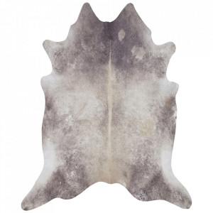 Covor crem/maro din blana 155x190 cm Wild Clarence Cream Brown Mint Rugs