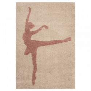Covor crem pentru copii 170x120 cm Ballerina Stella Zala Living