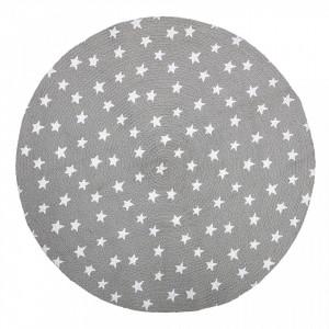 Covor gri din iuta 100 cm Stella Bloomingville Mini